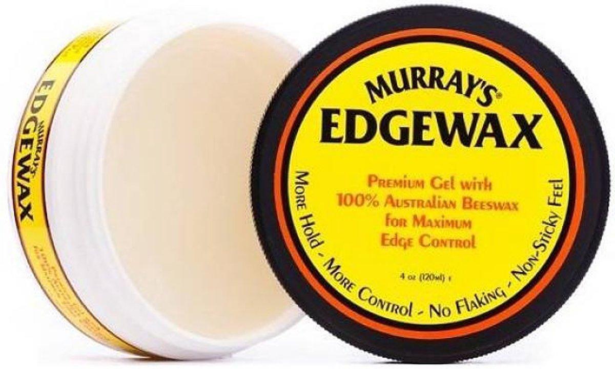 Pomade Murrays Edgewax Waterbase Type Daftar Harga Terlengkap Black Extreme Hold Bolcom