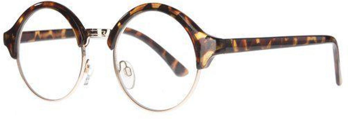 Icon Eyewear RCD212 Marilyn Leesbril +2.50 - Demi, goudkleurig frame kopen