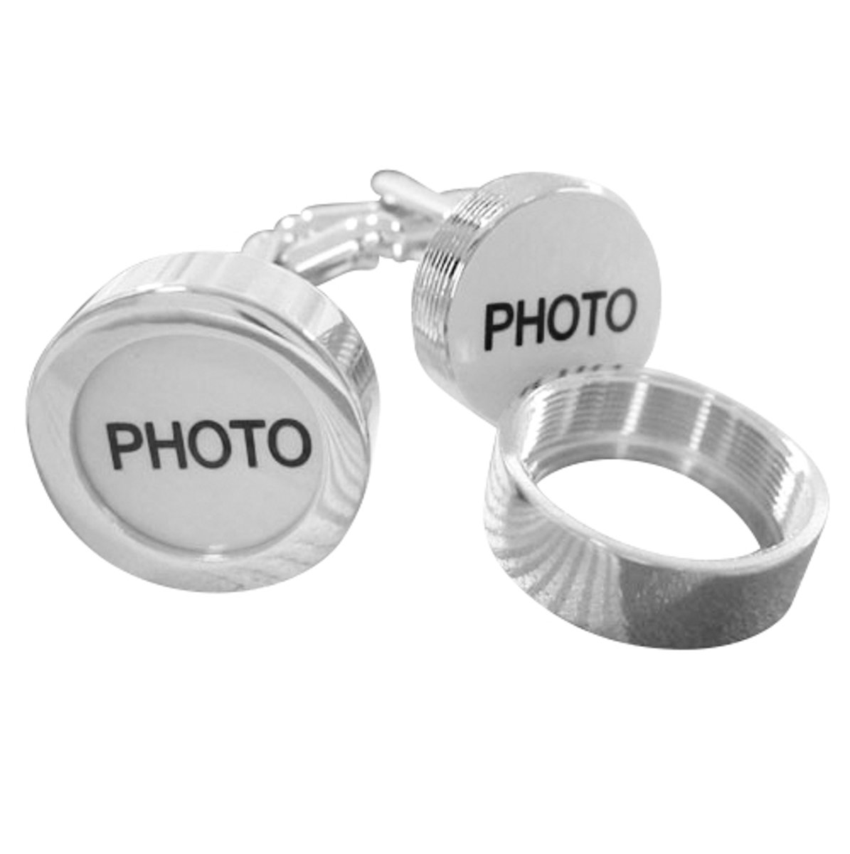 Montebello Manchetknopen Foto - Heren - Metaal - 17 mm kopen