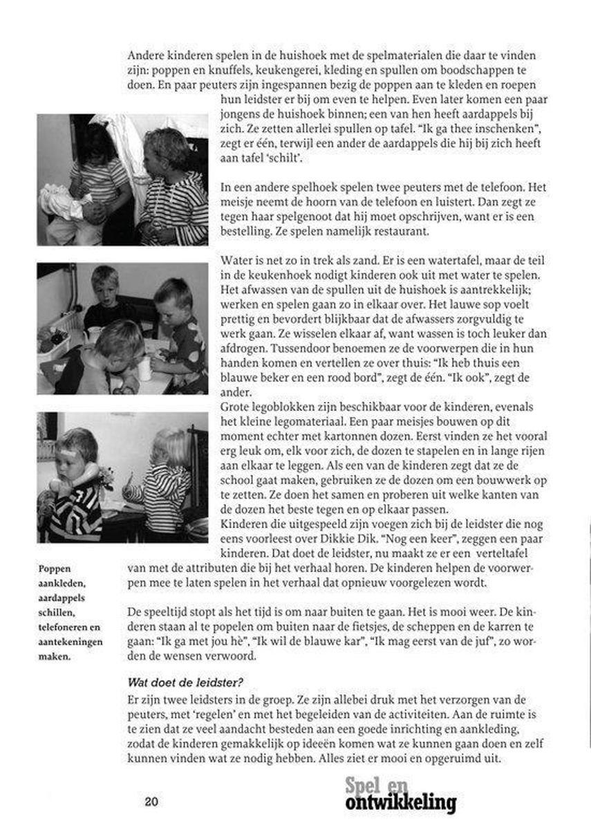 New bol.com | Ontwikkelingsgericht onderwijs - Spel en Ontwikkeling @LA12