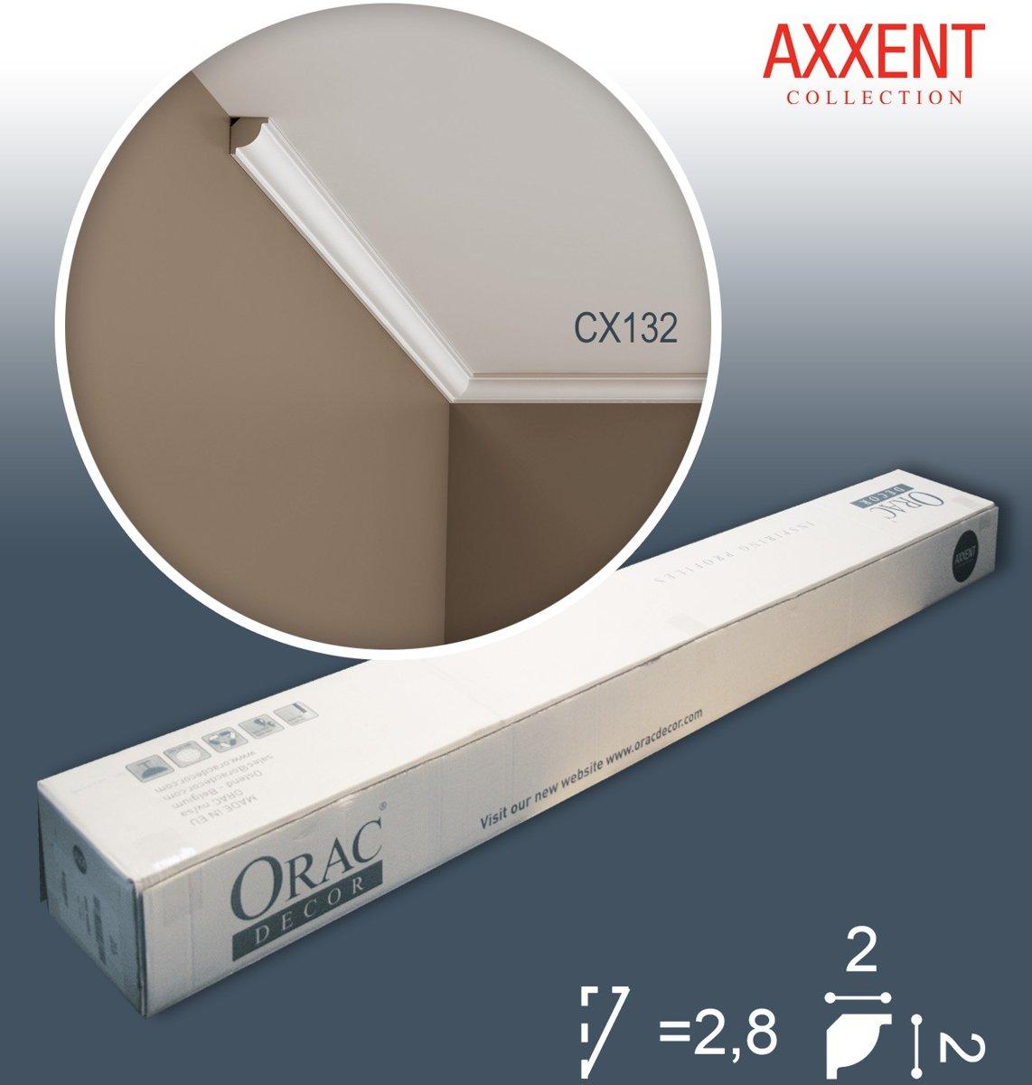 1 doos 40 Kroonlijsten Origineel Orac Decor CX132 AXXENT Plafondlijsten Sierlijsten 80 m kopen