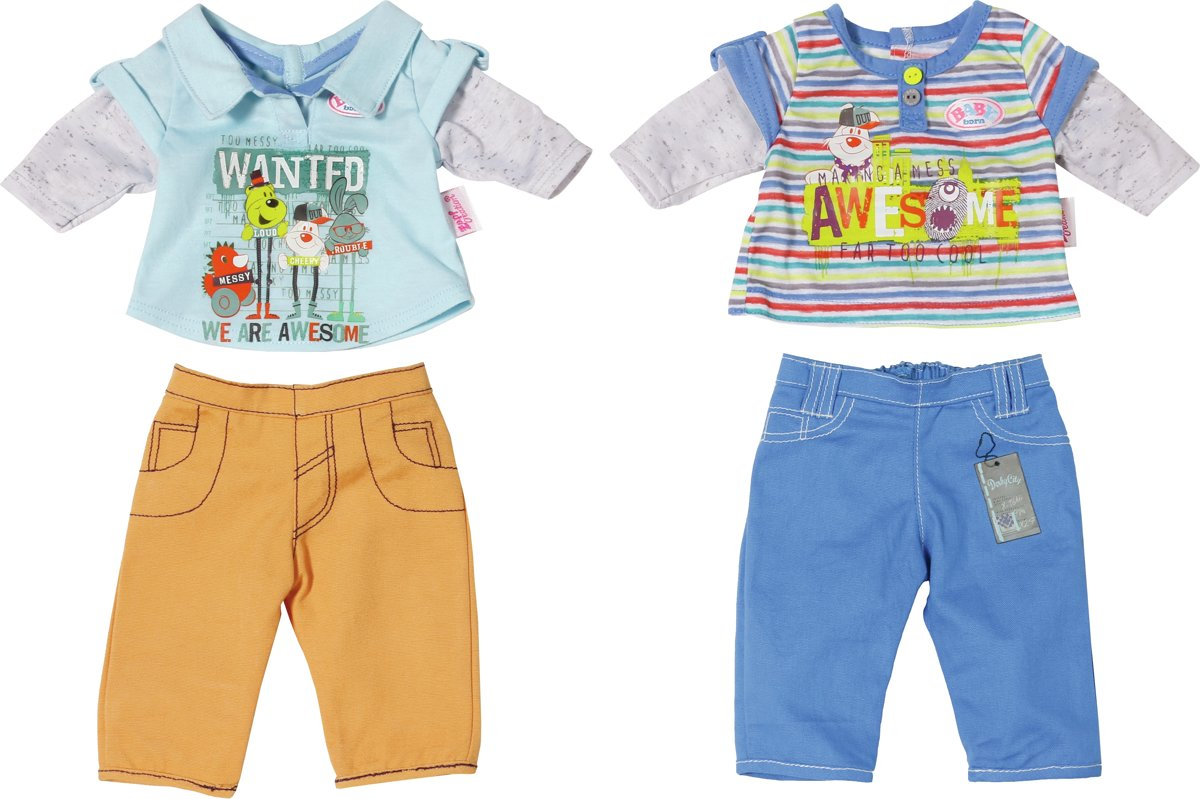 BABY born Boys Collection - Poppenkleertjes