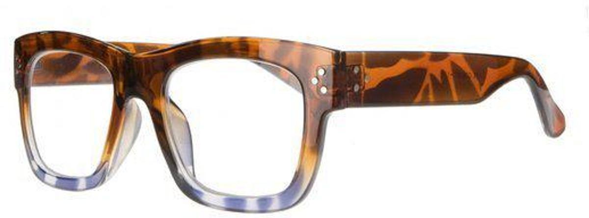 Icon Eyewear QCE301 Rumble Leesbril +1.50 - Glanzend demi, blauw kopen