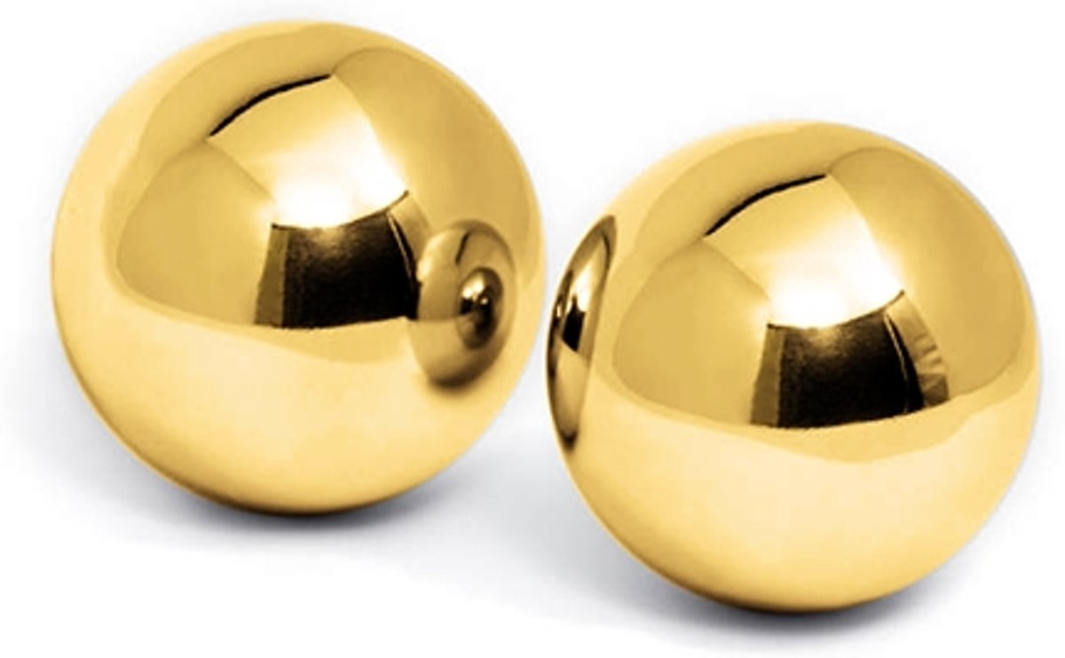 Foto van PLEASURE BALLS 24K GOLD PLATED