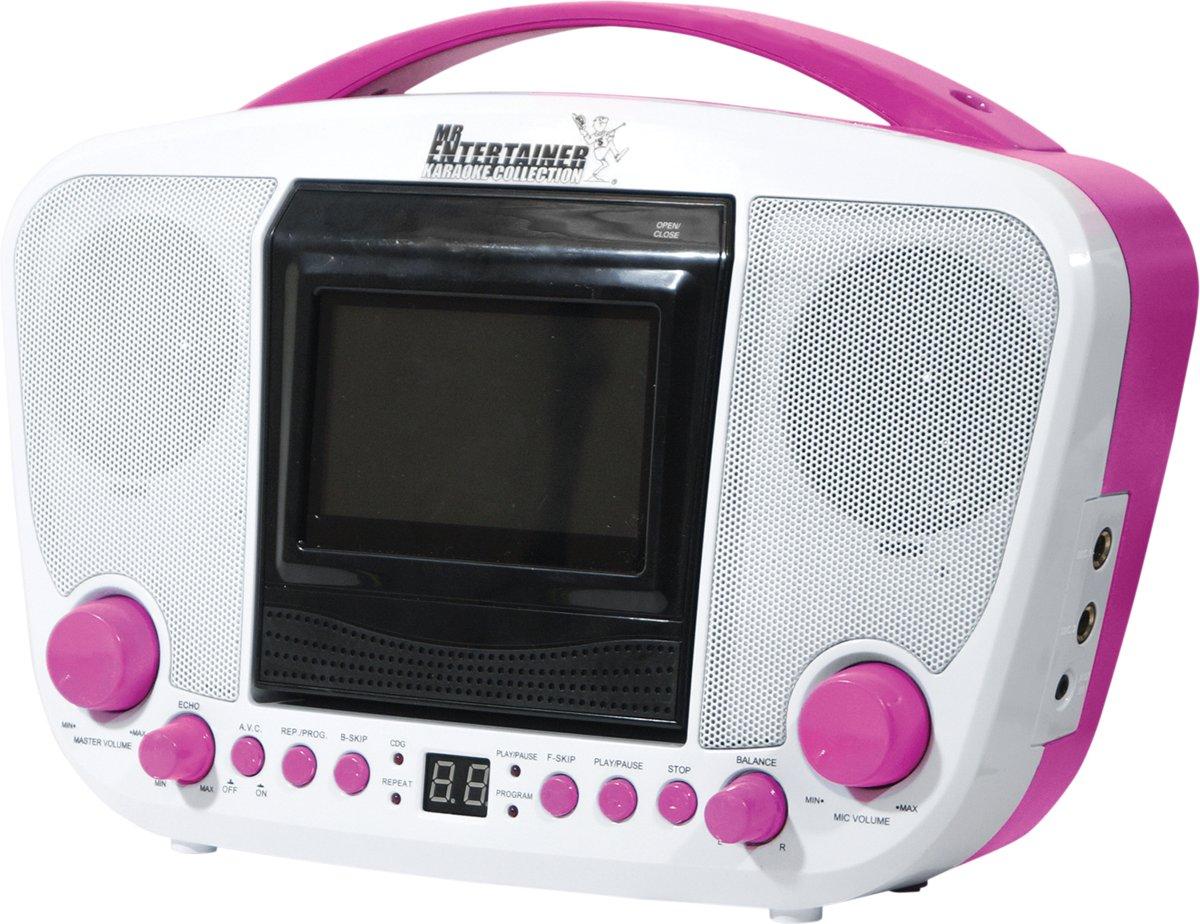 Mr Entertainer KAR122C Bluetooth CDG karaoke machine