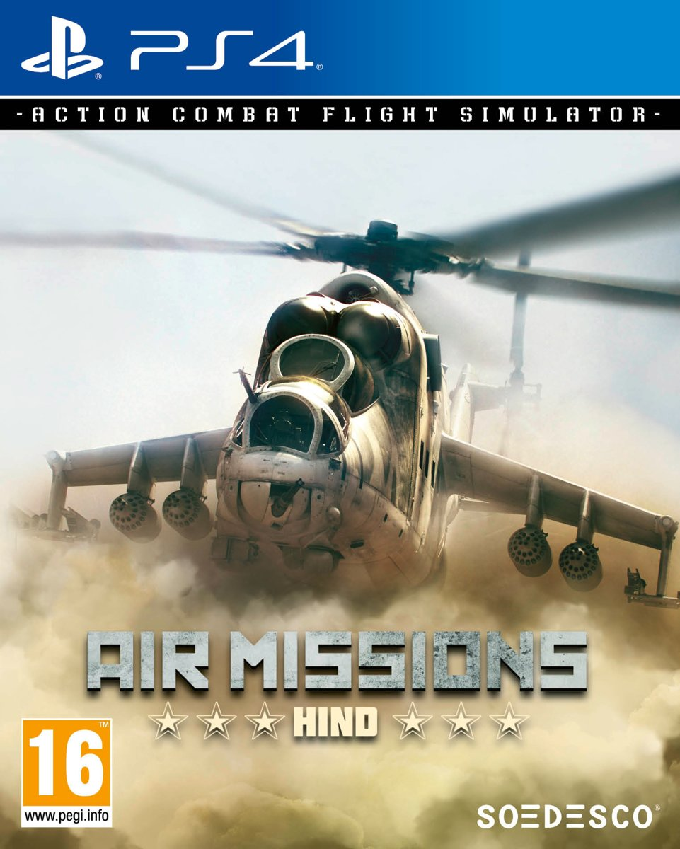 Air Missions Hind PlayStation 4