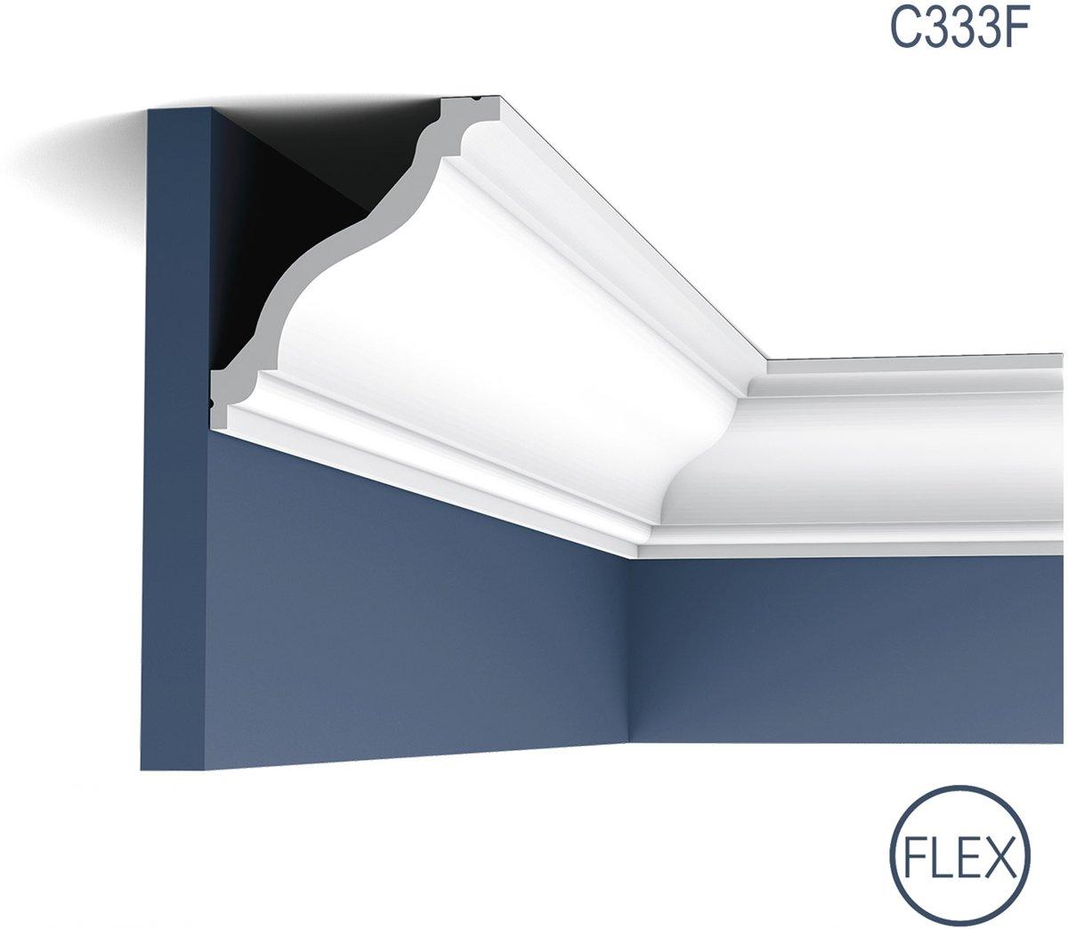 Kroonlijst flexibel Origineel Orac Decor C333F LUXXUS Plafondlijst Sierlijst flexibel 2 m kopen