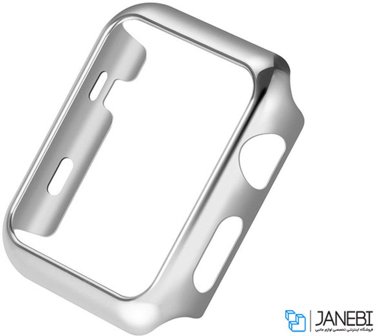 Case Cover PC voor Apple Watch Series 1 / 2 / 3 (42mm) - Zilver kopen