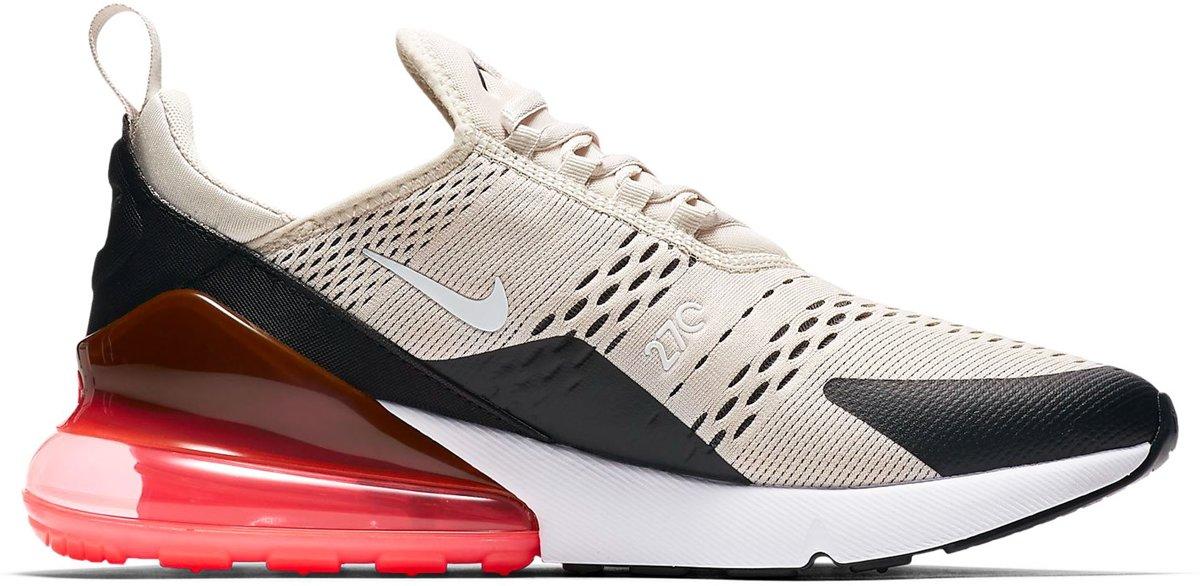 Nike Sneakers Maat 42.5 Mannen beigezwartrood
