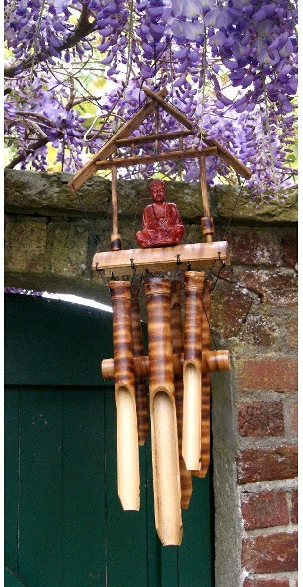 Bamboe Boeddha windgong kopen