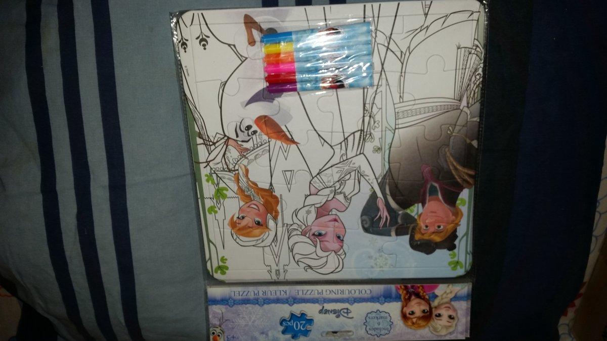 Kleur puzzel  / Disney Frozen