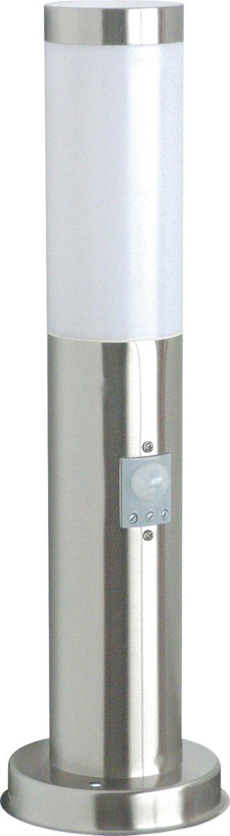 Smartwares RX1010-45S - Tuinpaal - Bewegingsmelder - buiten - RVS - 45cm