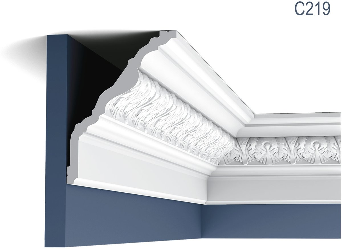 Kroonlijst Origineel Orac Decor C219 LUXXUS Plafondlijst Sierlijst 2 m kopen