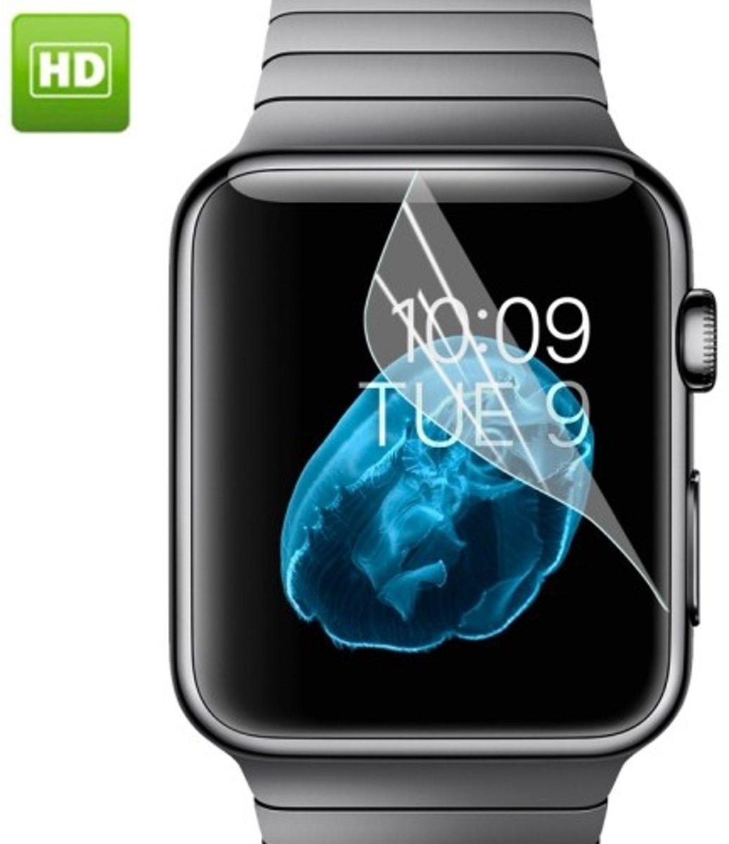 Apple Watch 38mm - screen protector beschermfolie -  HD Clear kopen