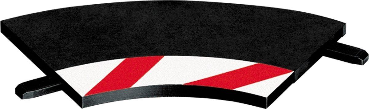 Carrera Binnenslipstroken bocht 1/60° + eindstukken - racebanen - 1:32