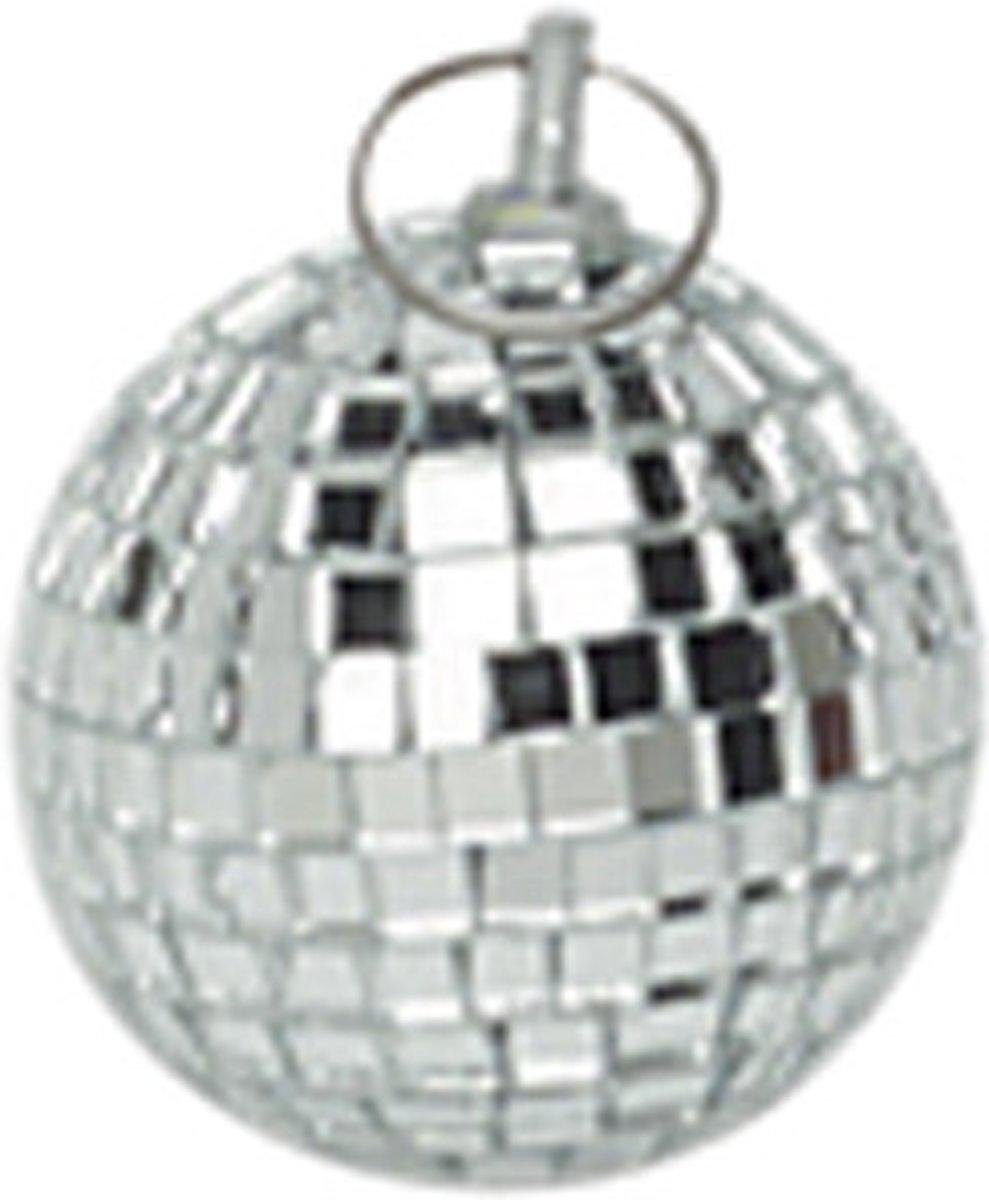 Spiegelbol discobol zilver - 5 cm