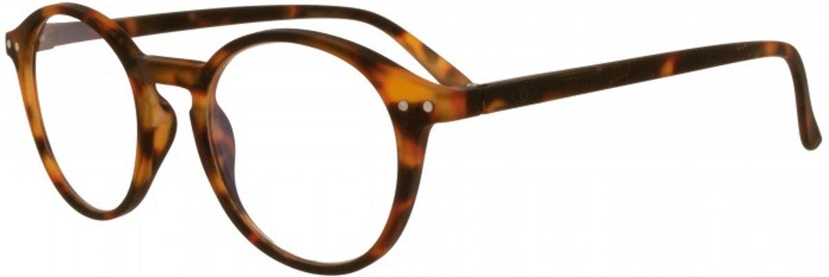 Icon Eyewear YCD214 Ilja Leesbril +1.50 - Mat tortoise kopen