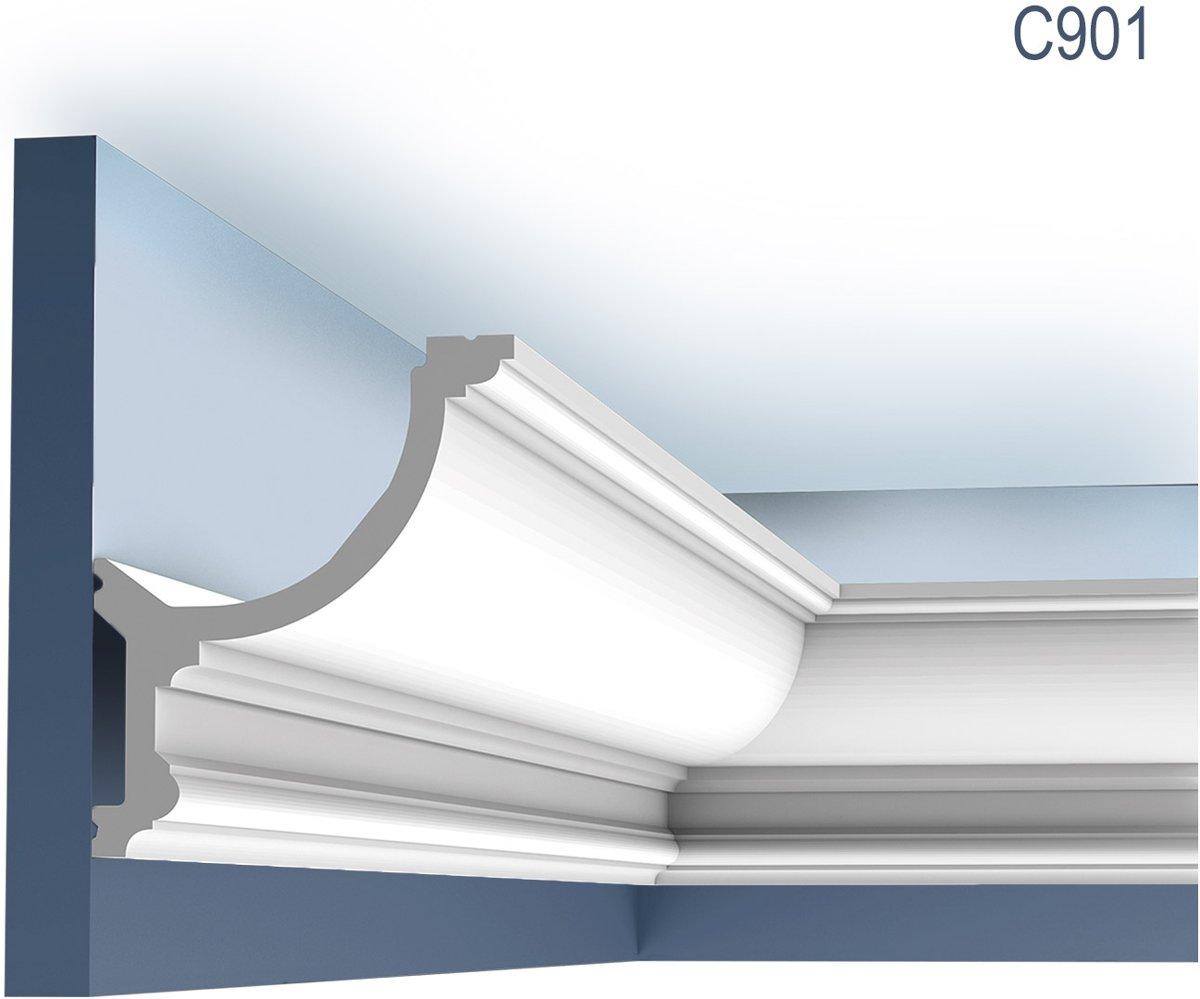 Kroonlijst Origineel Orac Decor C901 LUXXUS Sierlijst voor indirecte verlichting 2 m kopen