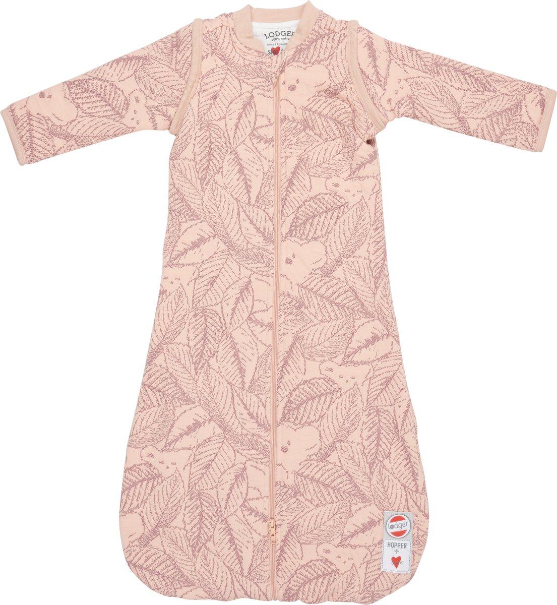 Lodger Baby slaapzak - Hopper Botanimal - Roze - Lange mouw - 86/98