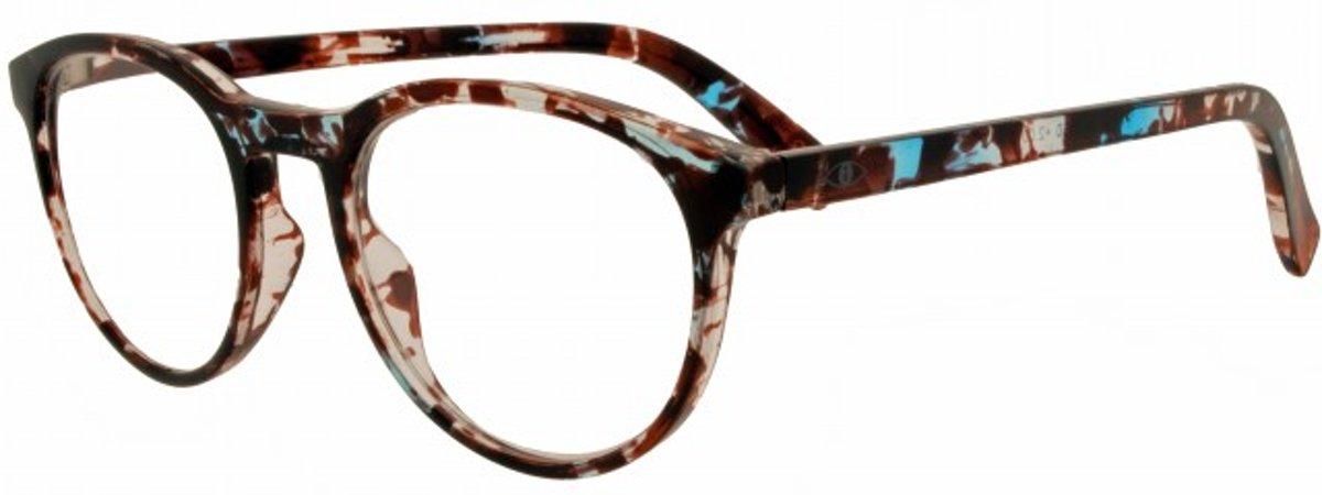 Icon Eyewear QCE350 Figo Leesbril +1.50 - Allover print kopen
