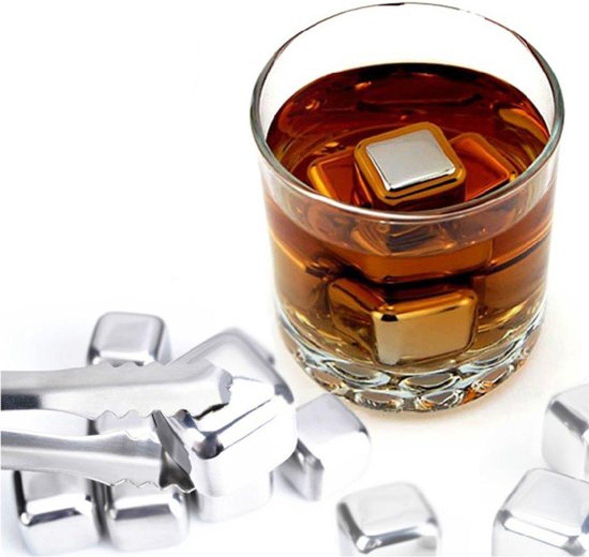 Whiskey Ijsblokjes - RVS kopen