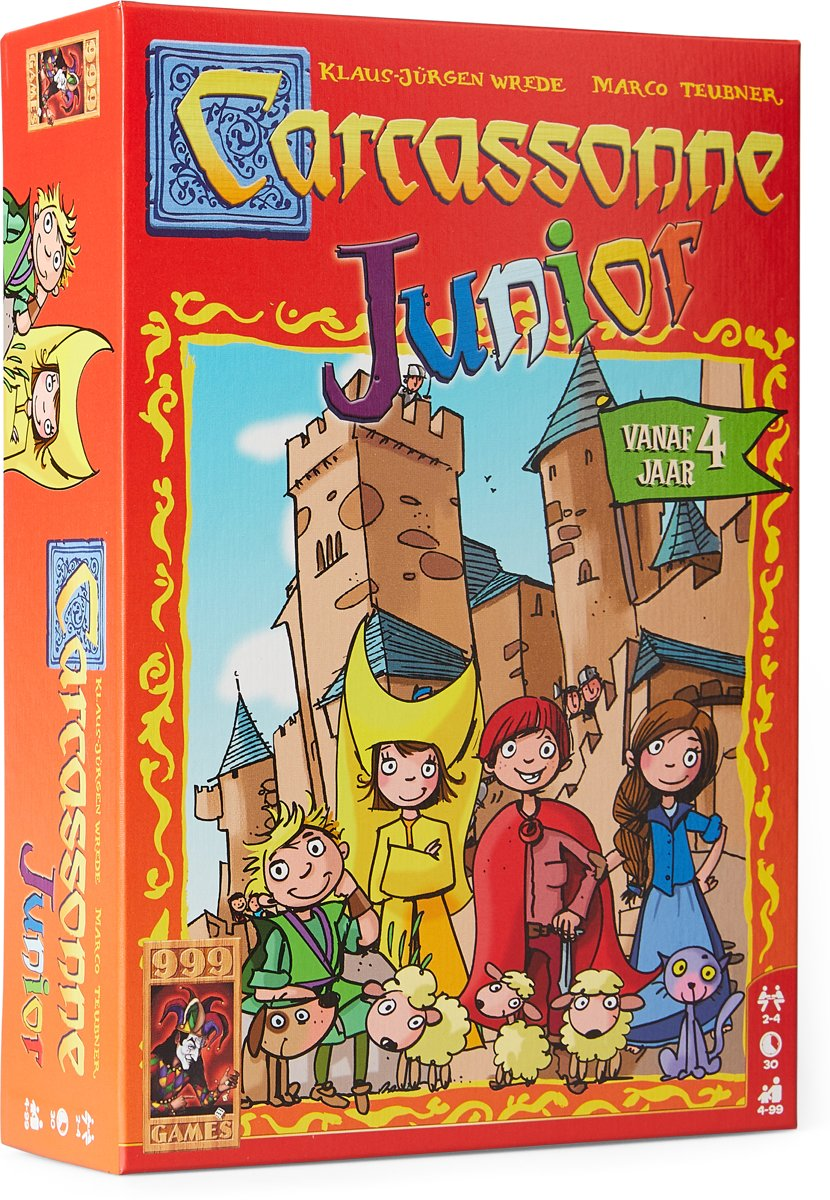 Carcassonne Junior - Kinderspel voor €13,99