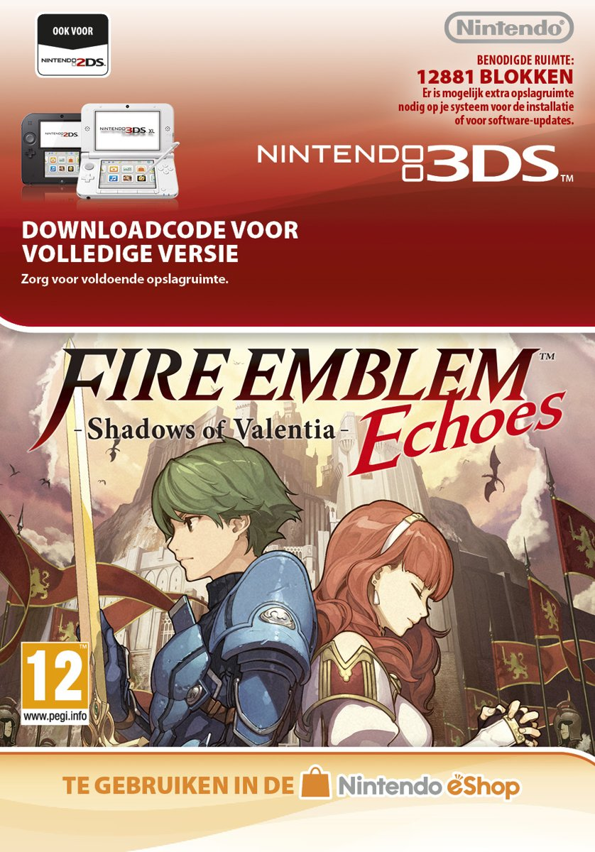 Fire Emblem Echoes: Shadows of Valentia - Nintendo 3DS kopen