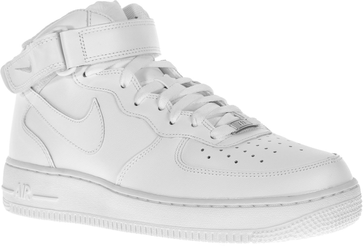 Nike Force D'air 1 Mi '07 - Chaussures De Sport - Mixte - 315123-111 - Maat 40 - Wit ouWj7