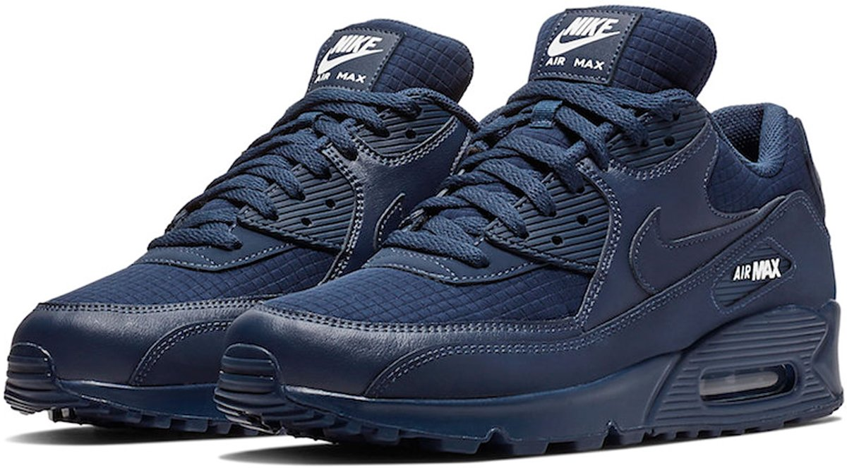 cheap for discount d625c d5ff3 bol.com   Nike Sneakers - Maat 44 - Mannen - donkerblauw/wit