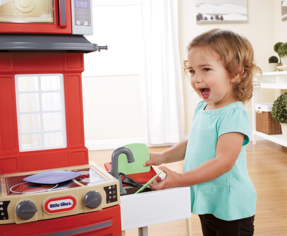 Little Tikes Keuken : Bol little tikes koken en opberg keuken rood little tikes