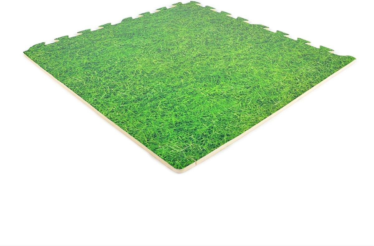EVA FOAM tegels gras 62x62x1,2cm (set van 20 tegels + randen) kopen