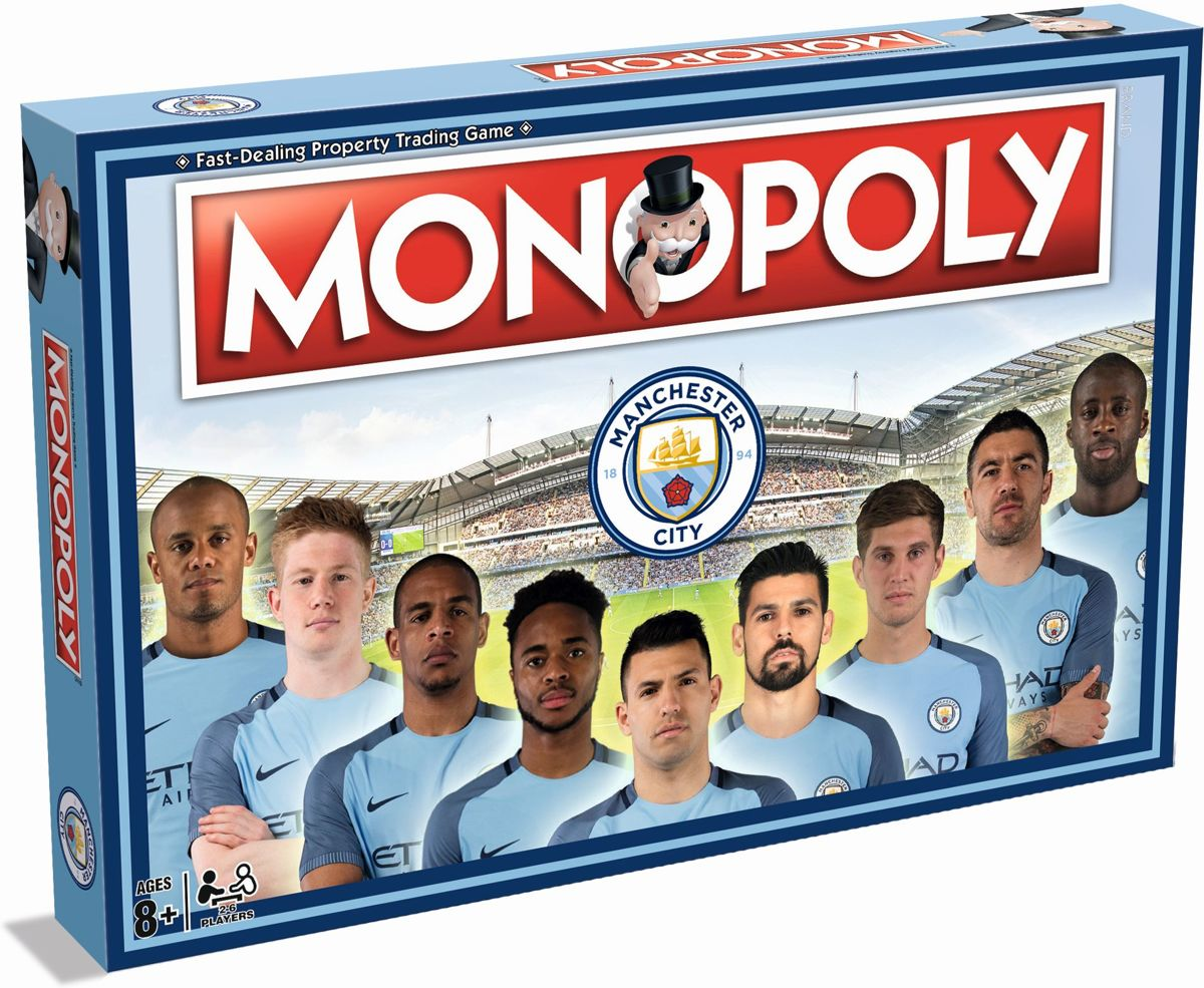 Monopoly Manchester City - Engelstalig Bordspel