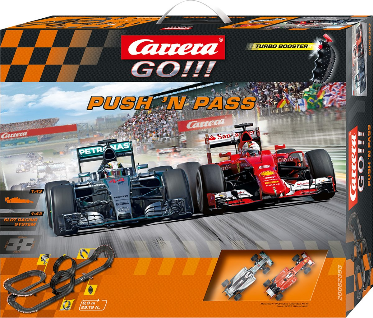 Carrera GO!!! Push