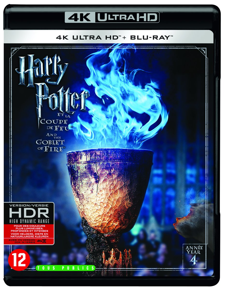 Harry Potter And The Goblet of Fire (4K Ultra HD Blu-ray)-