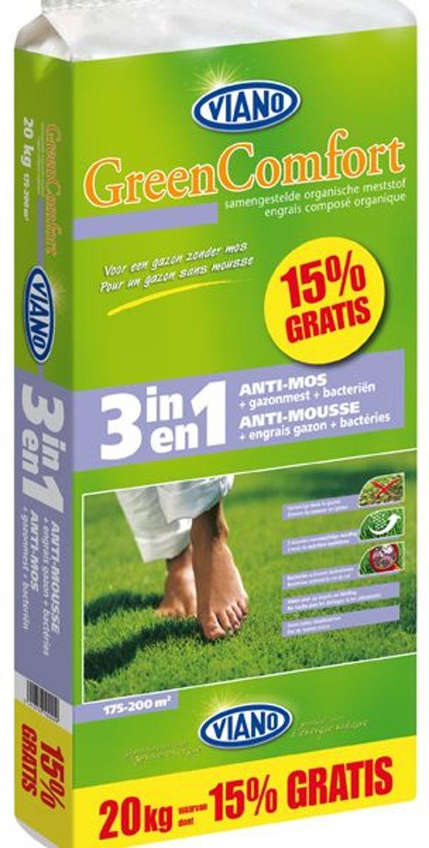 3 in 1 Gazonmeststof + anti-moswerking + bacteriën 20 kg