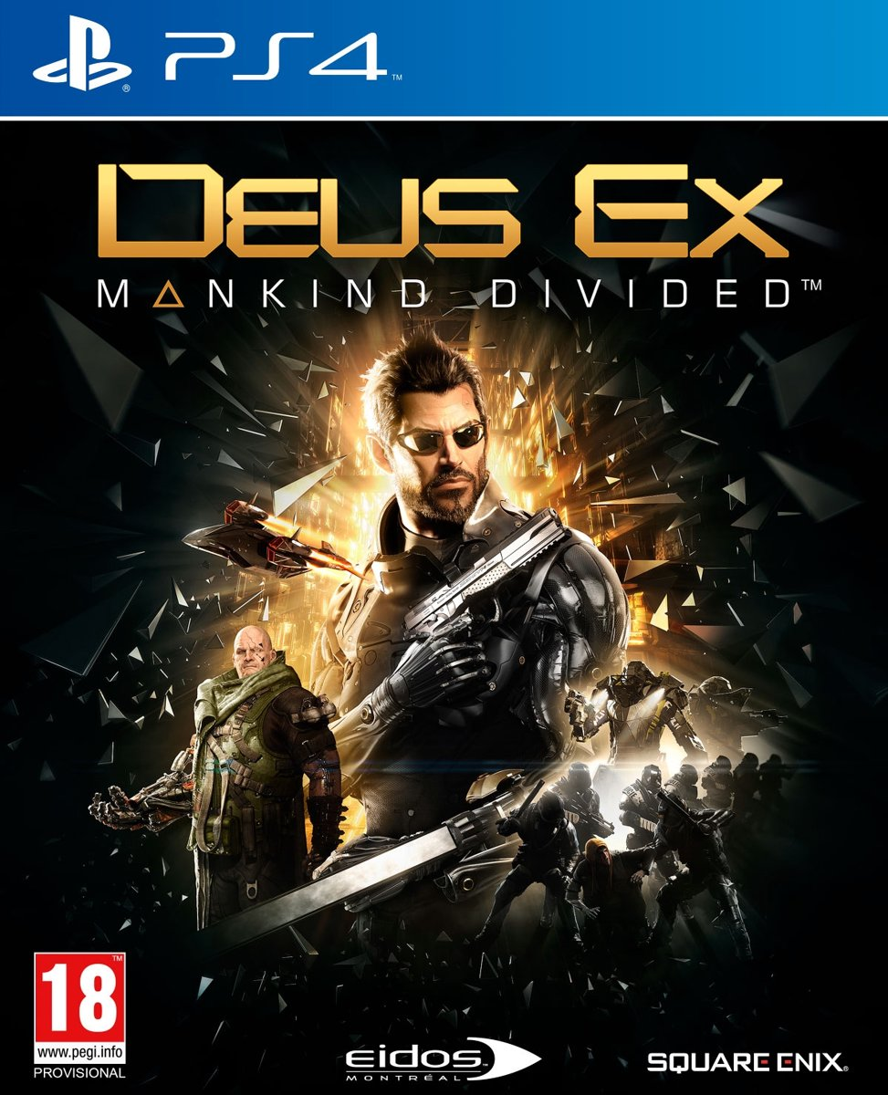 Deus Ex: Mankind Divided - Day One Edition PlayStation 4