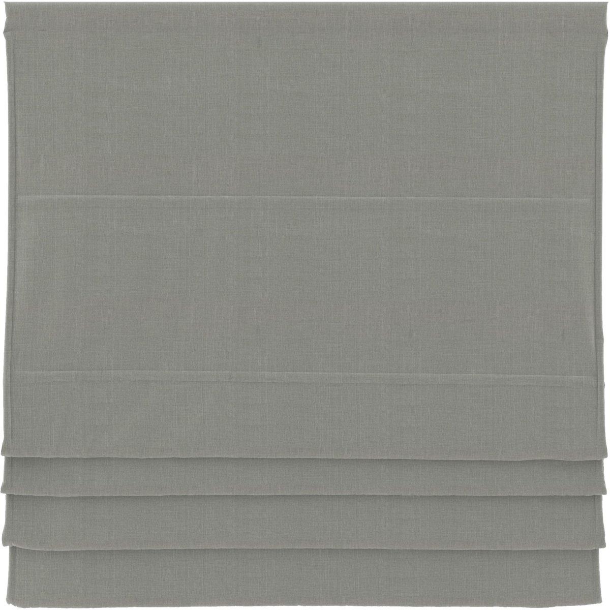 Vouwgordijnen - Grijs - Verduisterend - 180x180 cm kopen