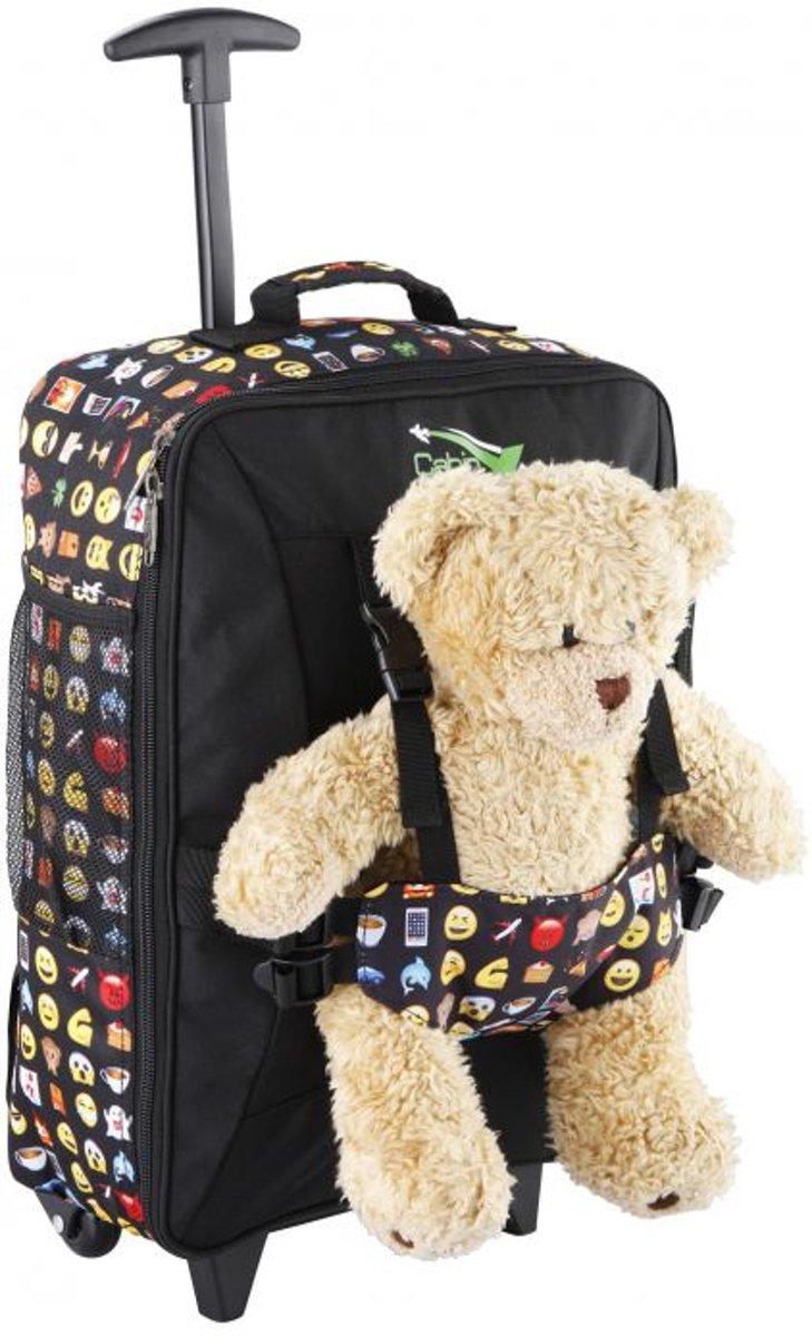 CabinMax Beer Kinder Handbagage Trolley - Neem je favoriete Bear / Doll  mee op vakantie (MJ) kopen