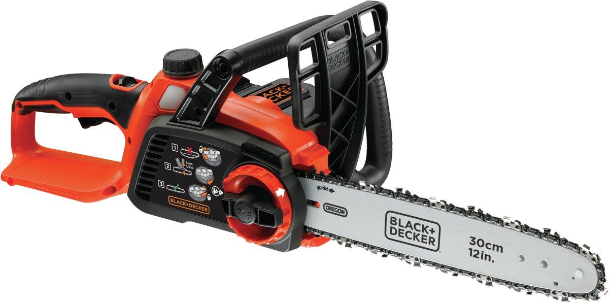 BLACK+DECKER 36V Kettingzaag GKC3630L25 - 30cm zwaartlengte - 2.5Ah Lithium-ion accu