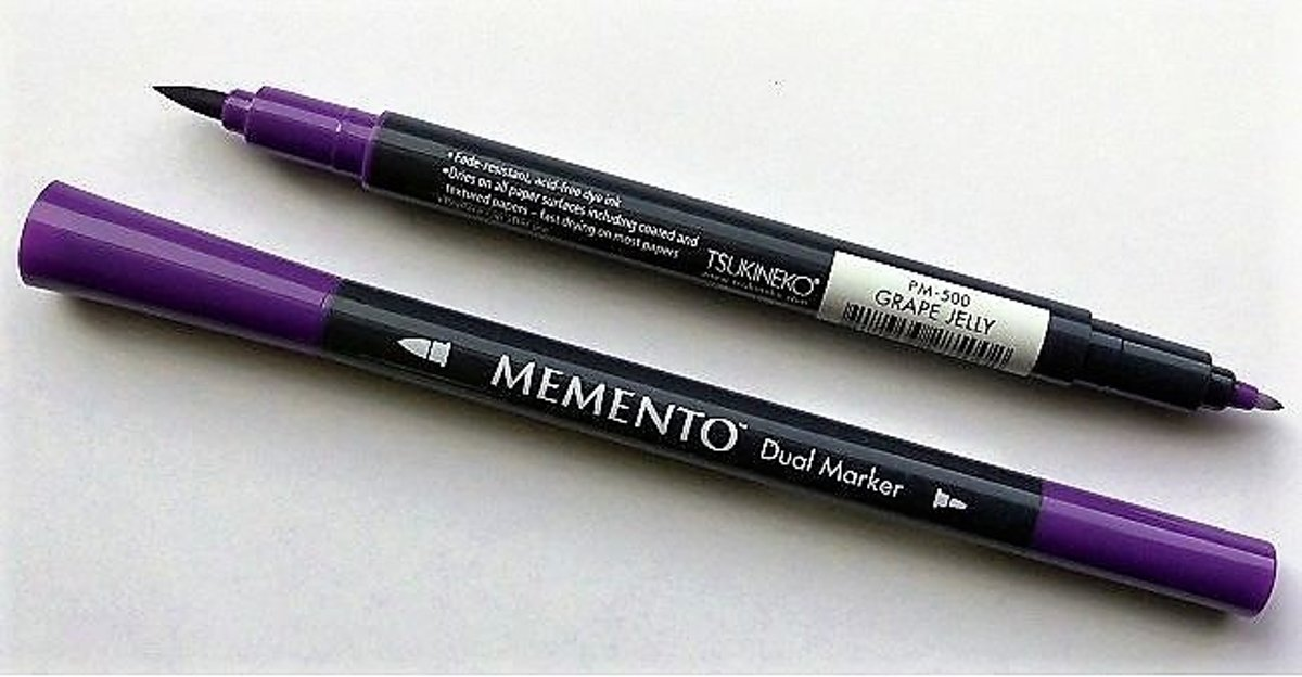 Memento Purple Dual Tip Marker Grape Jelly