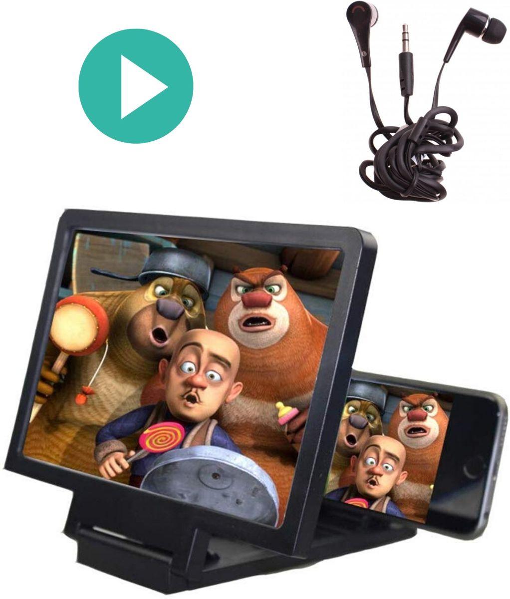 3D full HD telefoon schermvergroter -  vergrootscherm beeldscherm vergroter - projectiebeeldscherm - telefoon vergrootglas voor ieder type telefoon! kopen