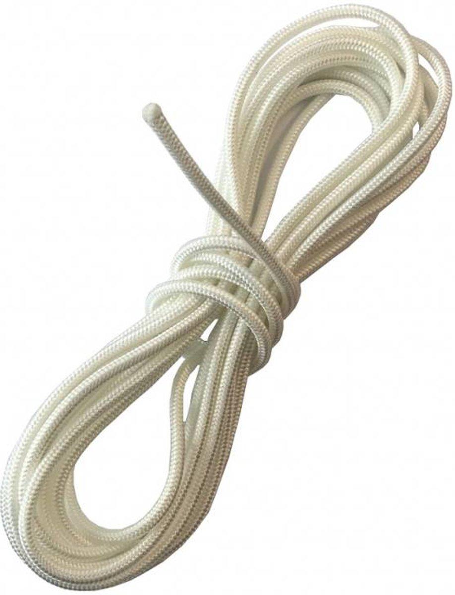 Selve Optrekkoord 4,2 mm nylon, kleur wit, lengte 5 mtr kopen