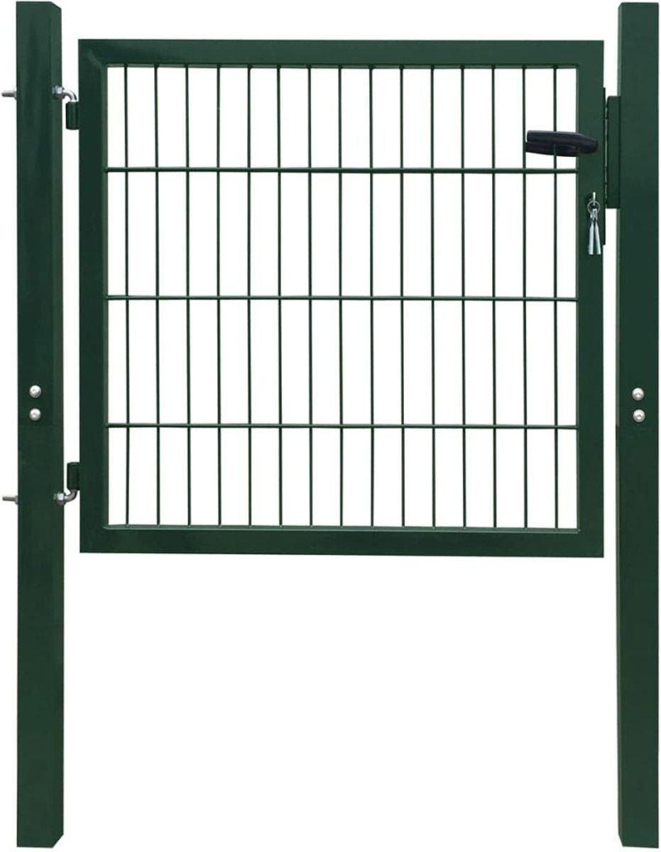 vidaXL 2D Poort (enkel) groen 106x130 cm kopen