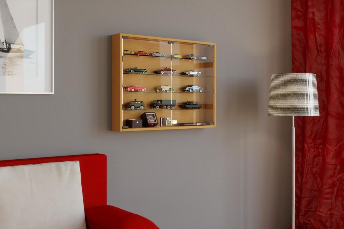 Glazen Wand Vitrinekast.Bol Com Glazen Vitrinekast Kopen Kijk Snel