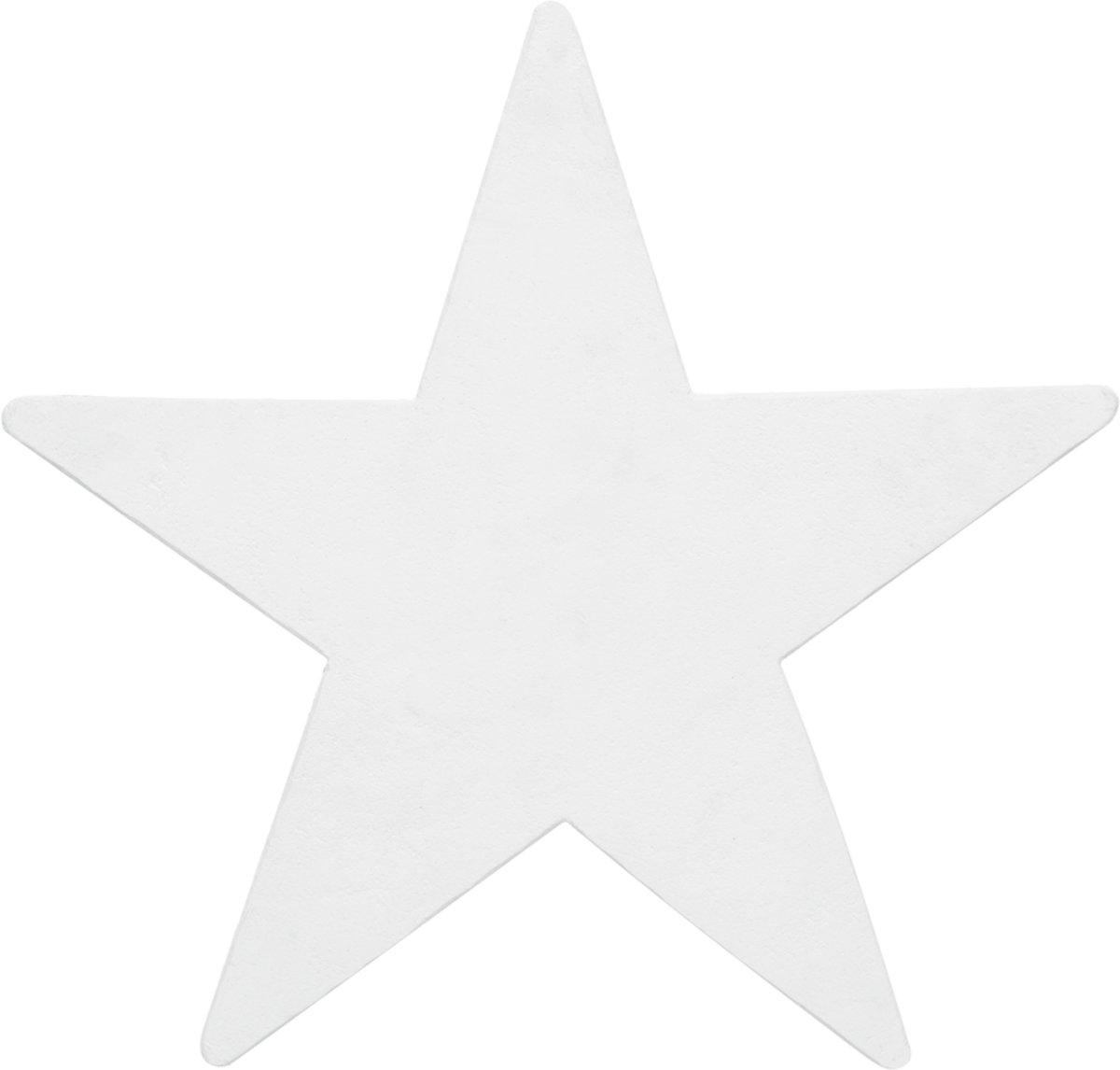 Europalms Silhouette Star, white, 58cm kopen