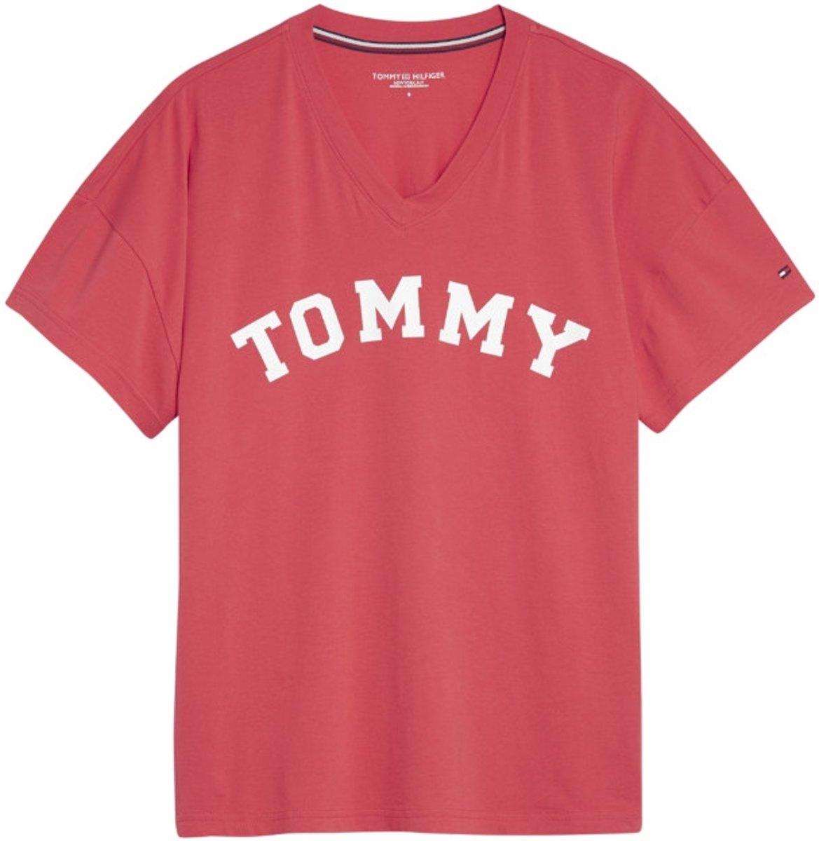 Tommy Hilfiger dames t-shirt v-neck-L kopen