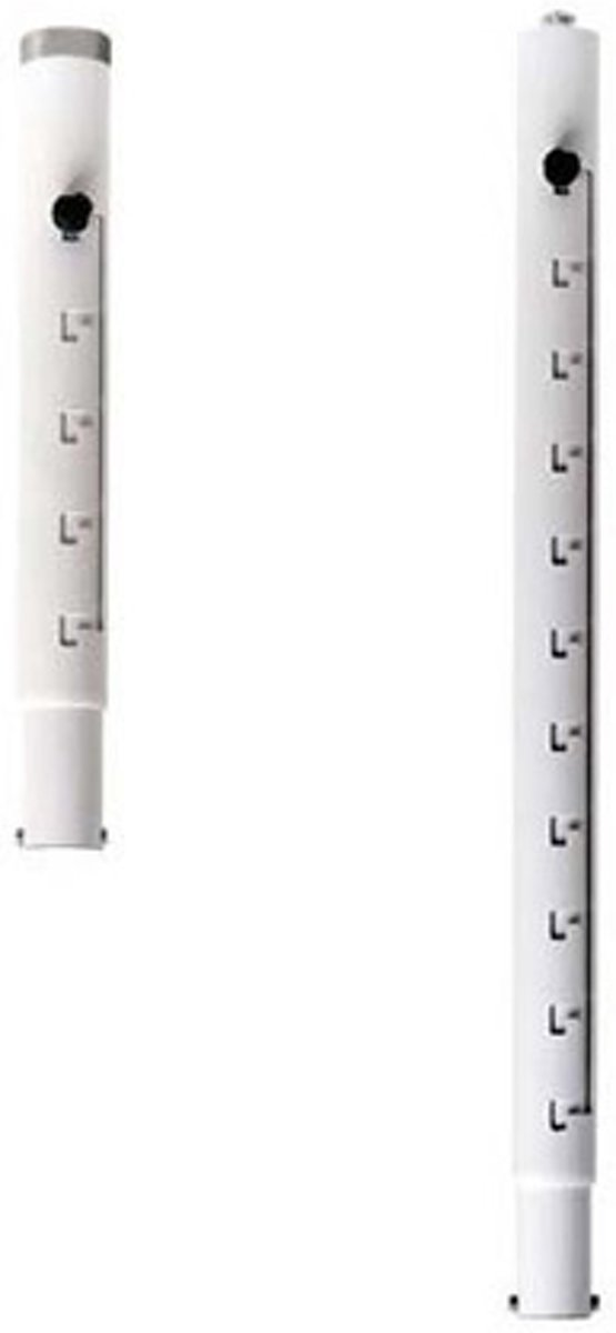 Medium extension column for PJ01UCM 418-618mm white kopen