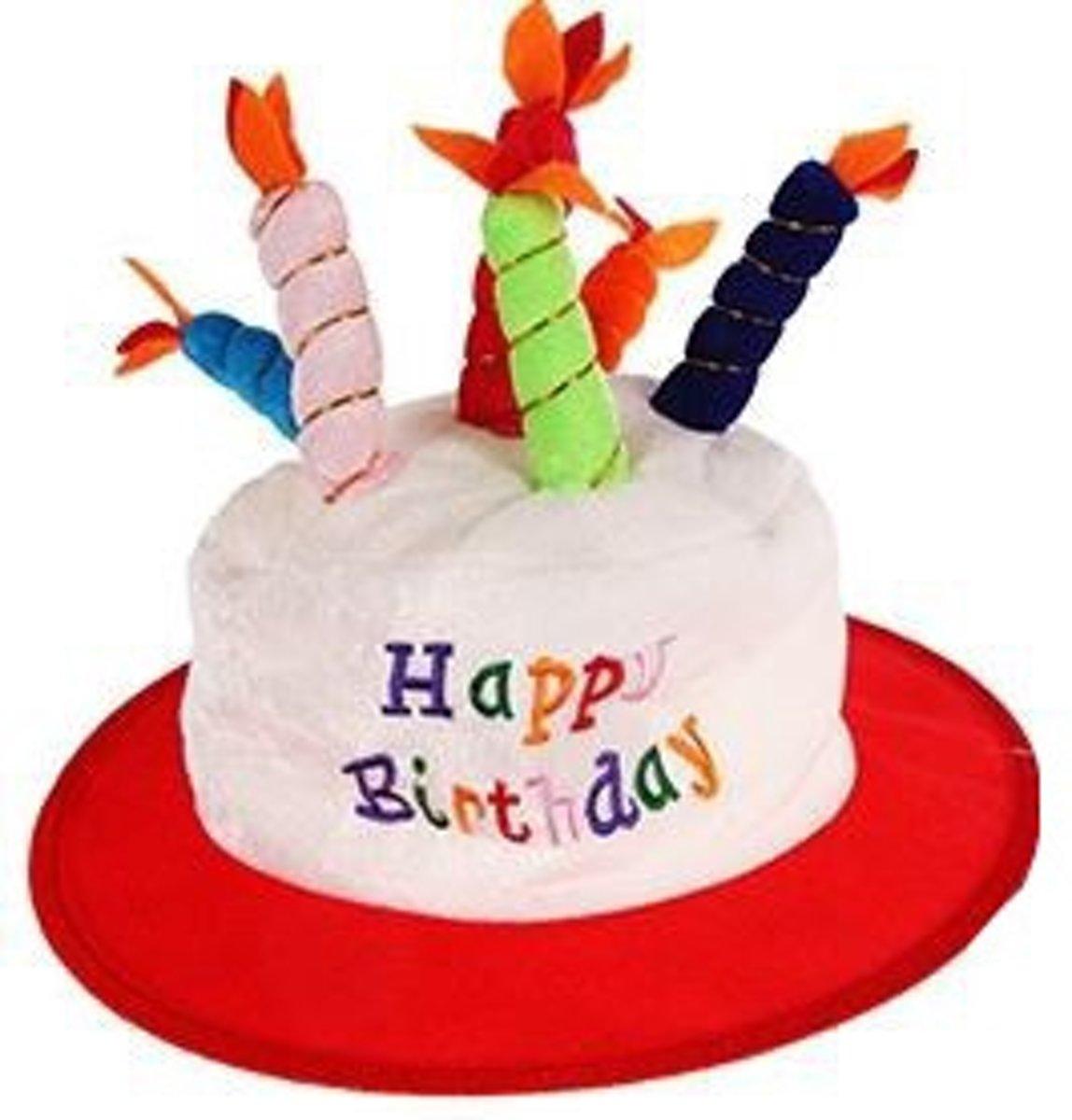 feestmuts 50 jaar bol.  Eddy Toys Feestmuts 6 Kaars Happy Birthday Rood, Eddy  feestmuts 50 jaar