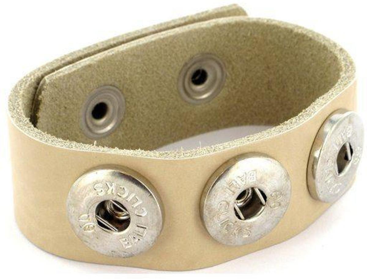 Bali Clicks Classics Armband -  Beige - 26 cm kopen
