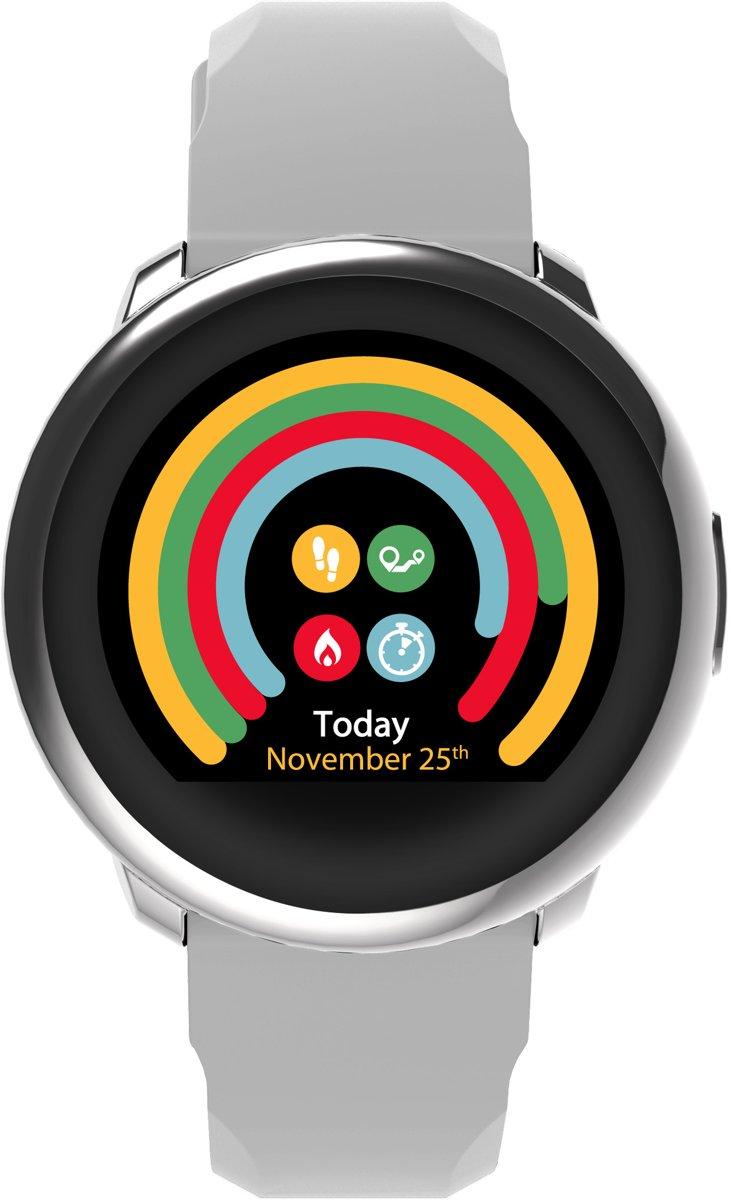 MyKronoz ZeRound - Smartwatch - Wit kopen